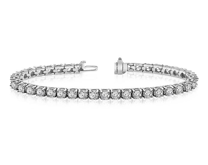 diamond tennis bracelets auction